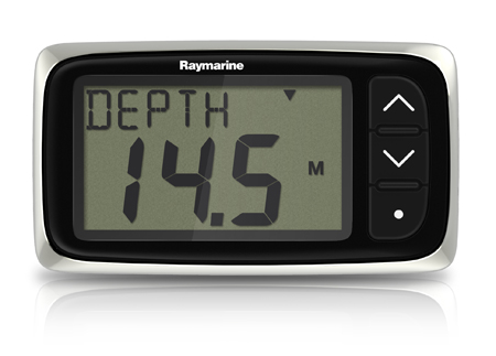 Raymarine I40 Depth System With THRU-HULL Transducer - # E70142