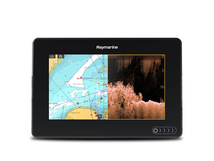 Raymarine Axiom 7 DV 7 MFD CPT-100DVS and Lighthouse US - # E70364-02-LNC