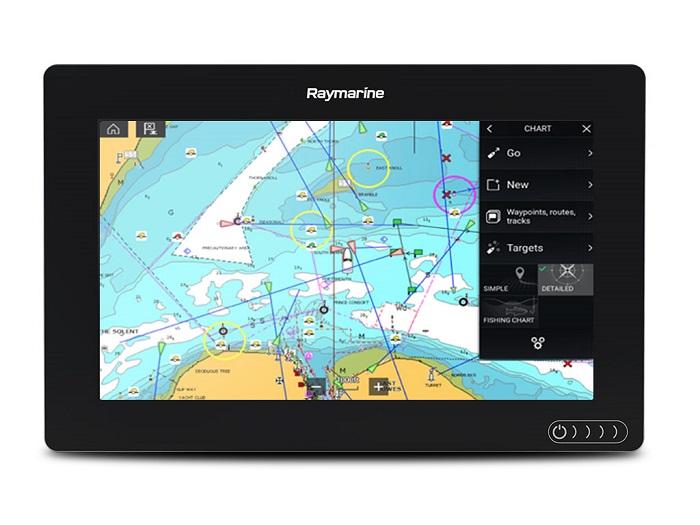 Raymarine Axiom 9 9 Plotter Navionics + - # E70366-00-NAG