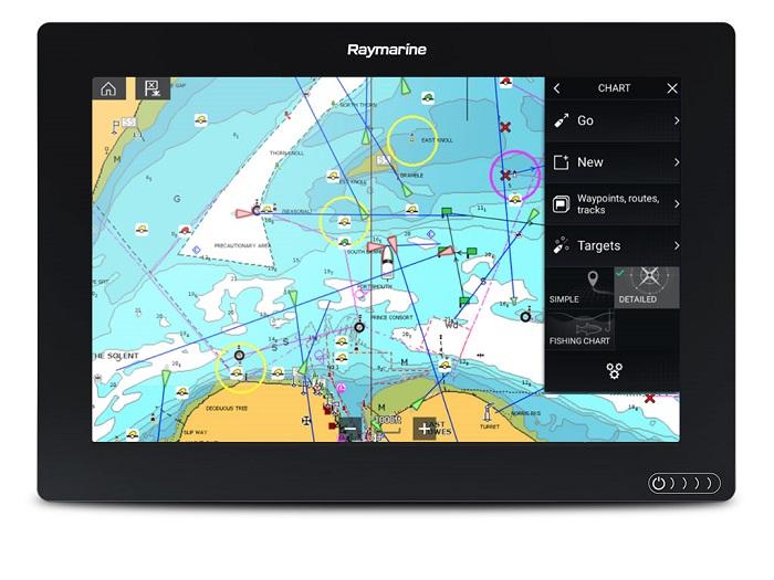 Raymarine Axiom 12 12 Plotter Navionics + - # E70368-00-NAG