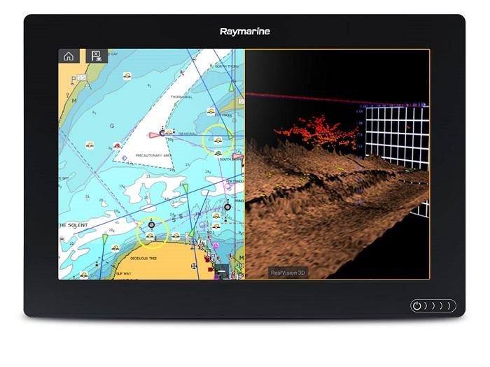 """Raymarine Axiom 12 RV 12"""" MFD No Transducer Navionics Plus N"""