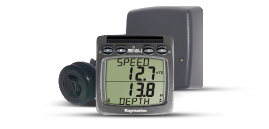 Raymarine Micronet Speed/Depth Wireless W/Thru Hull Triducer