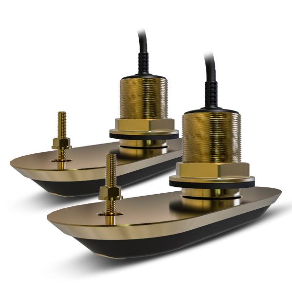 Raymarine RV-212 RealVision 3D Pair Bronze Thru Hull 12Deg