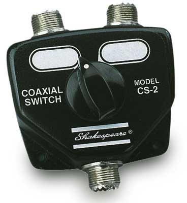 Shakespeare CS-2 Coax Switch  - # CS-2