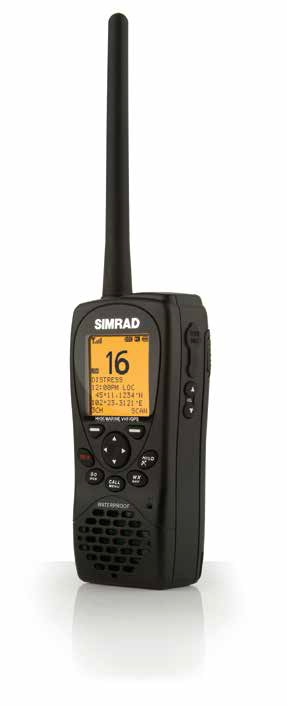 Simrad HH36U Hand Held VHF Floating Class D DSC - # 000-10785-001
