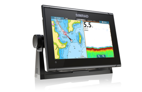 Simrad GO9 XSE 9 Plotter No Ducer C-Map Insight Pro - # 000-13210-001
