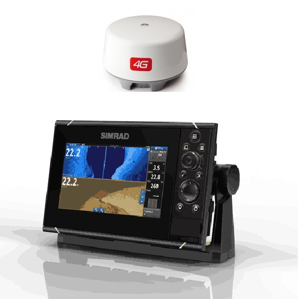 Simrad NSS7 EVO3 Radar Bundle Insight 4G Dome - # 000-13790-001