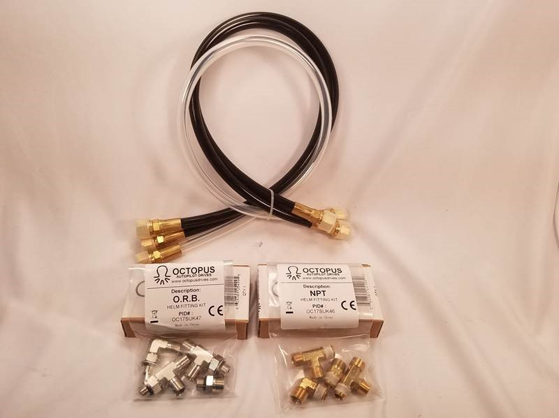 "Si-tex Sitex OC17SUK42 30"" Hydraulic Hose And Fitting Kit"