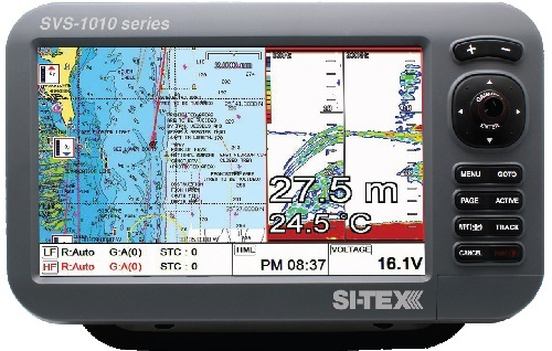 """Si-tex Sitex SVS-1010CF 10"""" Combo With External Antenna - SVS-1010CFE"""