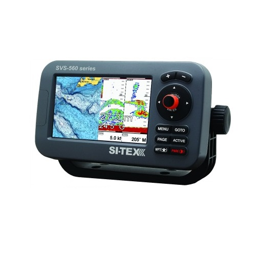 Si-tex Sitex SVS-560CFE Chartplotter Sonar With External Antenna
