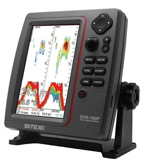 """Si-tex Sitex SVS-760 7"""" Color LCD Fishfinder"""