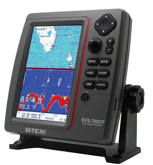 """Si-tex Sitex SVS-760CF 7"""" Color Comb"""
