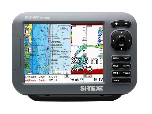 "Si-tex Sitex SVS-880C 8"" Chartplotte With External Antenna - SVS-880CE"