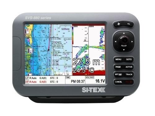 """Si-tex Sitex SVS-880CF 8"""" Color Comb With External Antenna - SVS-880CFE"""