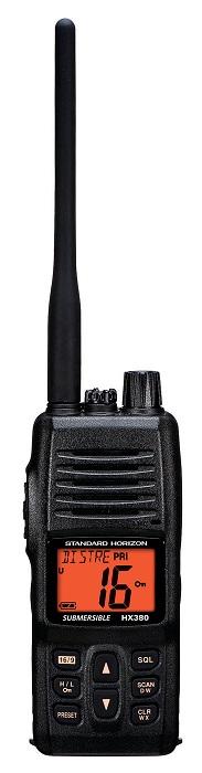 Standard HX380 Hand Held VHF  - # HX380
