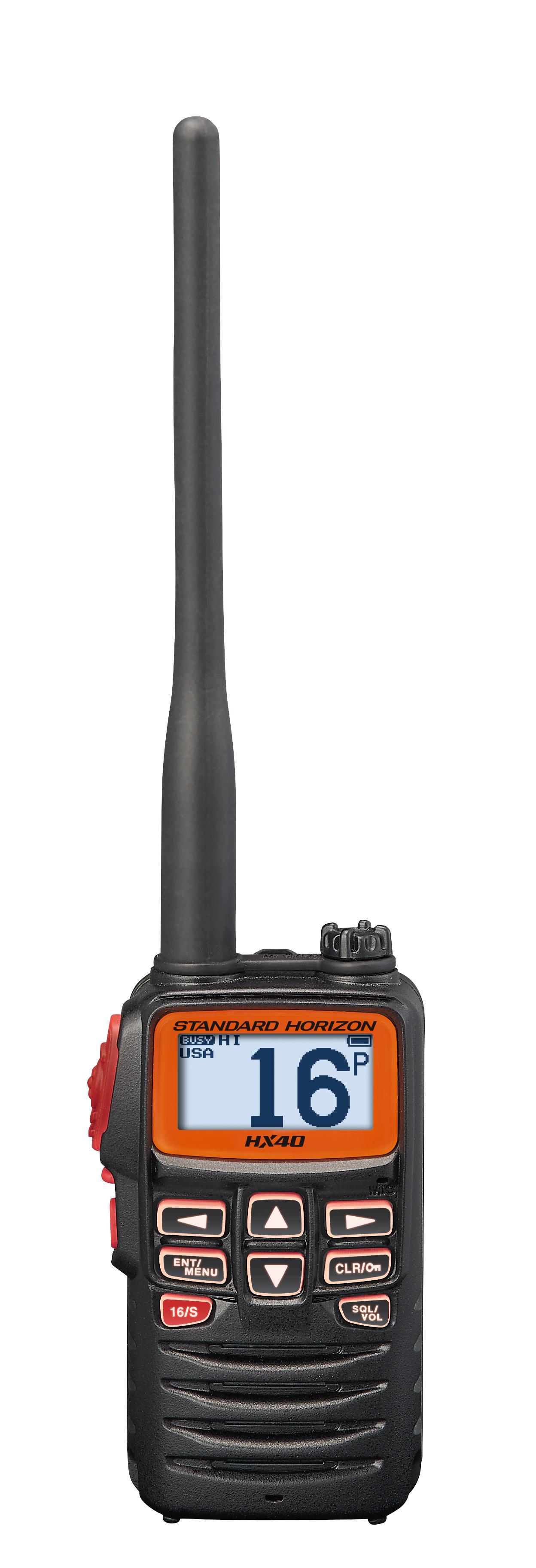 Standard HX40 6W Handheld VHF  - # HX40