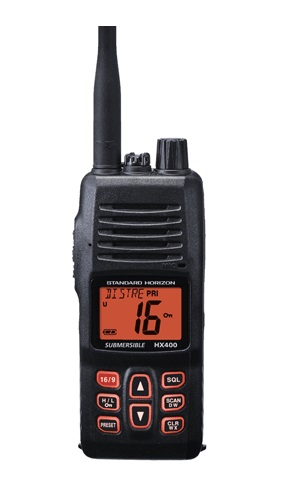Standard HX400IS Intrinsacally Safe 5 Watt Handheld VHF - # HX400IS