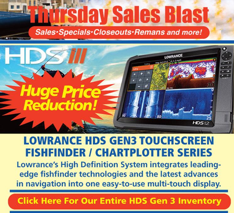 WIN-TRON Lowrance HDS Gen 3 Huge Price Reduction