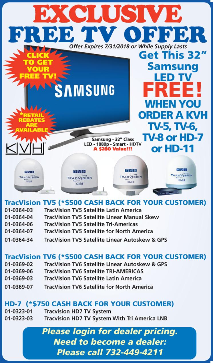 KVH-Win-Tron FREE TV PROMO