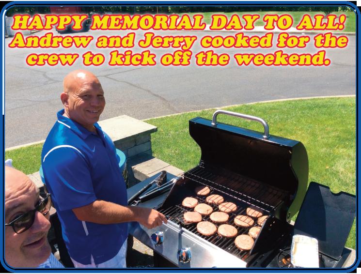 Memorial Day Burgers